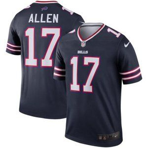 Men's Buffalo Bills 17 Josh Allen jersey